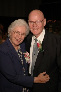 Mom and Dad on their 60th Anniversary